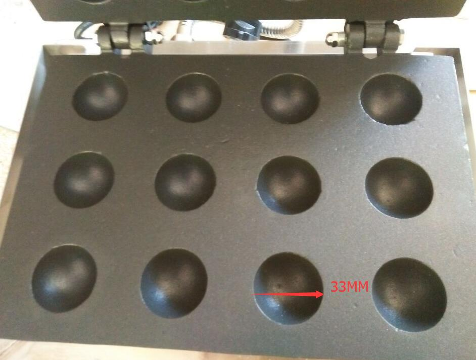 Электрический производитель рыбных шариков мини токояки машина