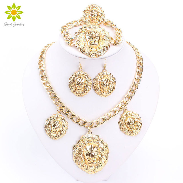 Wedding Gold Jewelry Sets Gold Color Jewelry Sets Gold Color