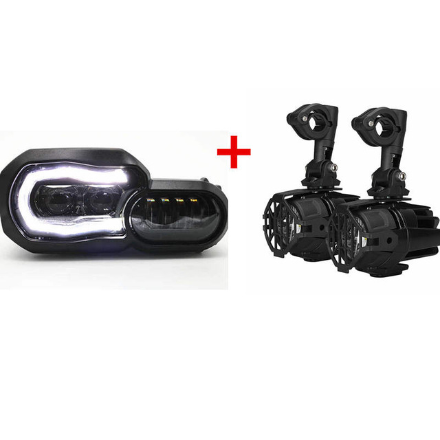 For Bmw R 1200 Gs R1200gs LED Fog Lamp & Protect Guards & Wiring Harness for Bmw F800 Gs R1200 GS ADV R1200gs 2010 R1200gs 2011 gs