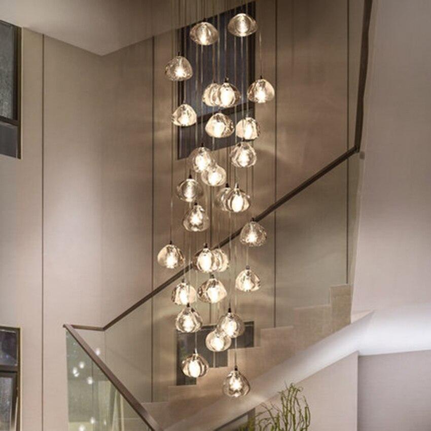 Led Pendant Lights Crystal Lamp