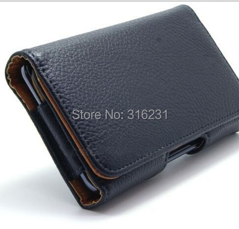 Pouch Belt Clip Case Cover PU Leather Holster Apple iphone 6 Plus 5.5 Inch Black Phone Cases Good Quality - Leadphone technology Co.,Ltd store