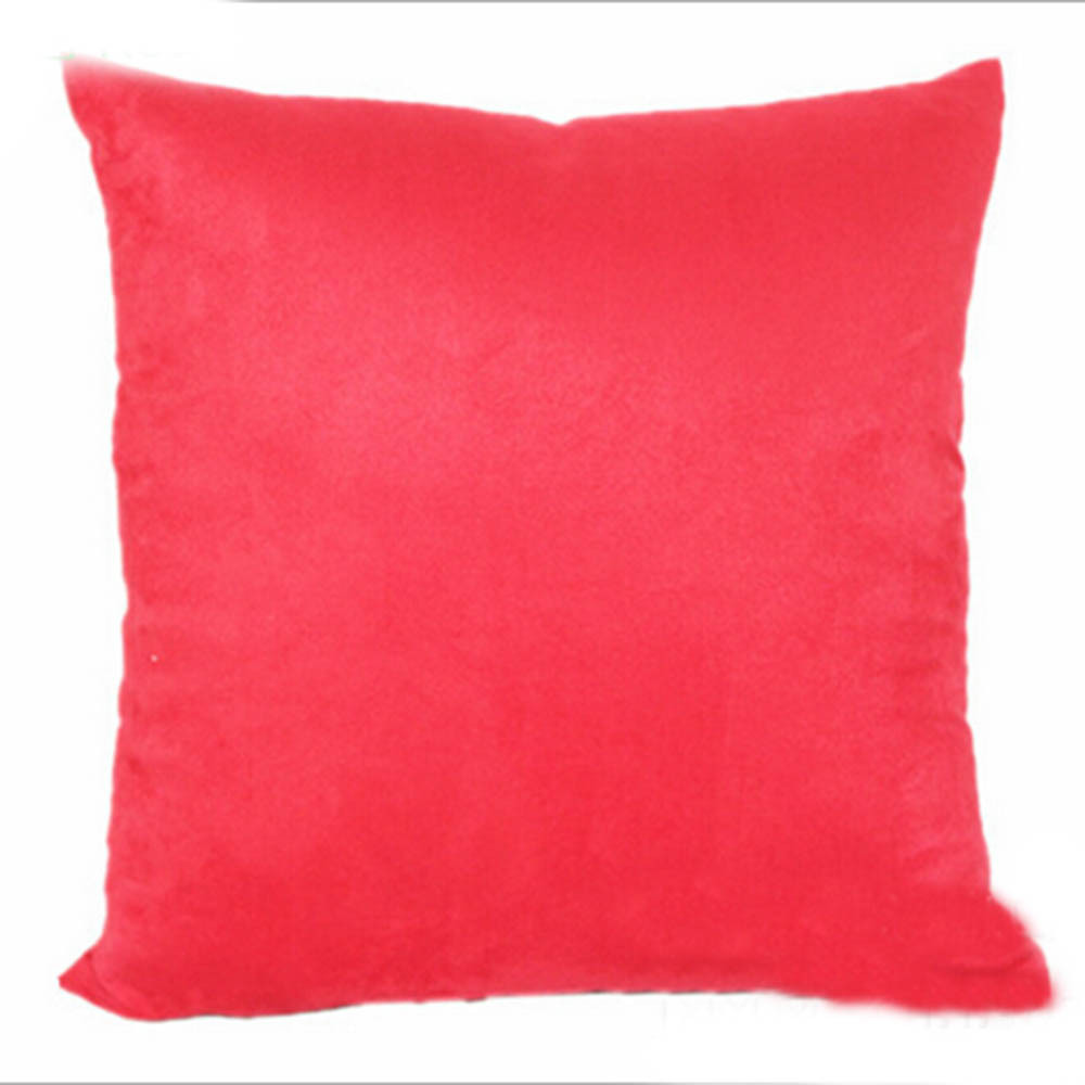 Cute Pillow Cases : Cute Office Suede Cotton Soft Cover Throw Pillow Case - us176