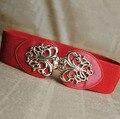 2016 Cinto Novo Estilo Famosa Marca de Design de Luxo Mulheres Cinto Cintos Tira Da Cintura Alloy Buckle Cintos Femininos Senhoras Cinto Na Cintura