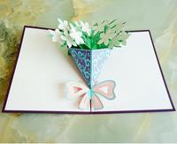 3D Pop Up валентинки Lover с днем рождения Юбилей открытки на день рождения Валентина праздник
