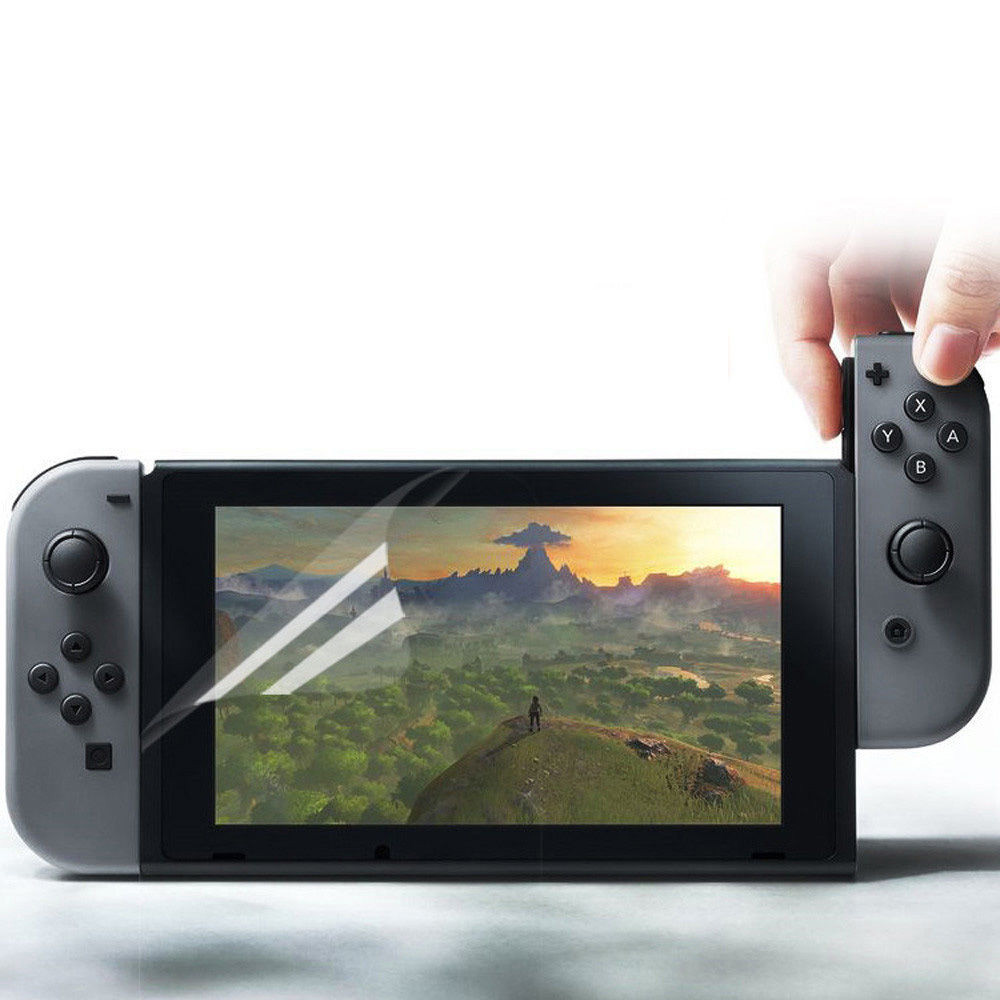 2 x Clear Screen Protector Guard Shield Film for Switch Console