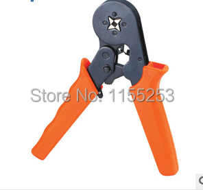 0.25-6mm2 Terminal Crimping Tool Bootlace Ferrule Crimper Wire end Cord end lug free shipping hsc8 6 6 24 10 awg 0 25 6 0mm2 terminal crimping pliers tongs clamp tool bootlace ferrules crimper wire cable cord end lug m25