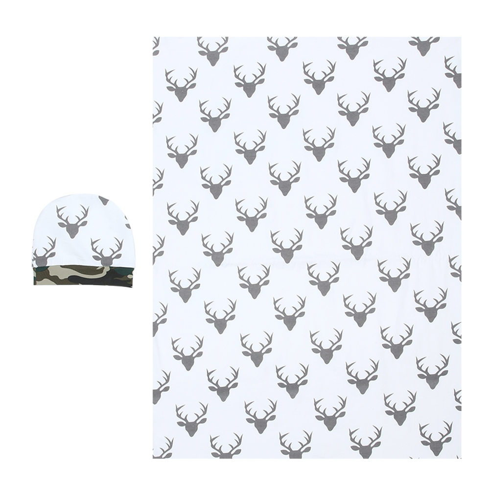 2pcs Baby Summer 100% Muslin Cotton Cartoon Baby Towel Newborn Blanket Baby Swaddle Infant Wrap 77 X 58cm