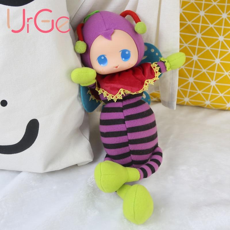 Puha, aranyos baba játék alvó lebegő állat töltött baba plüss rajzfilm méh babák lányok játékok gyerekeknek Karácsonyi ajándék URGE