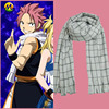 Free Shipping Fairy Tail Natsu Dragneel Cosplay Costume Scarf Muffler