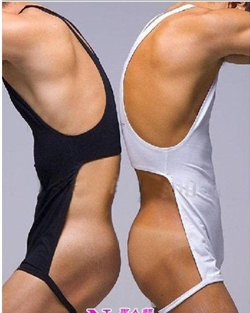 Частен персонализиран BOYTHOR Секси пижами Мъжки спални Чип бельо Топ ликра памук Секси новост Класически черно и бяло