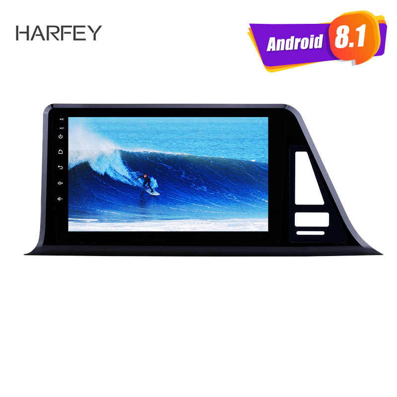"Harfey 2Din Head Unit WIFI Music Audio GPS Navi Radio car Multimedia Player Android 8.1 9"" For 2016 2017 2018 Toyota C-HR LHD"