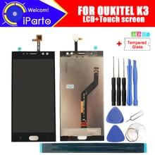 5.5 インチ oukitel K3 lcd ディスプレイ + タッチスクリーンデジタイザアセンブリ 100% オリジナル新液晶 + タッチデジタイザー oukitel k3 + ツール