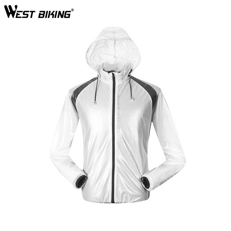 Vests West Biking Unisex Rainwear Hooded Outdoor Cycling Raincoat Bike Rain Coat Bicycle Waterproof Jacket Clothing