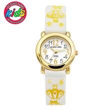 JACQUES FAREL Niños Niños relojes de moda lindo simple impermeable de Cuarzo Relojes de Pulsera Niñas C