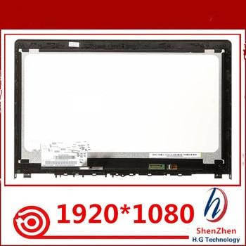 "New 15.6"" for lenovo yoga 500 15 flex 3 15 flex 3-15 YOGA500-15 FLEX3-15 assembly touch screen +led screen 1920*1080"