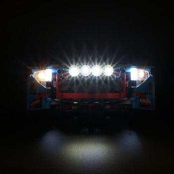 Led Licht kit (nur licht enthalten) für lego 42077 und Kompatibel mit 20077 Die Rally Auto ziegel Gesetzt