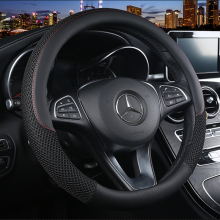 Car Steering Wheel Cover Leather 38cm Auo Sport wheel cover Universal Steering Cover for Interior Accessories