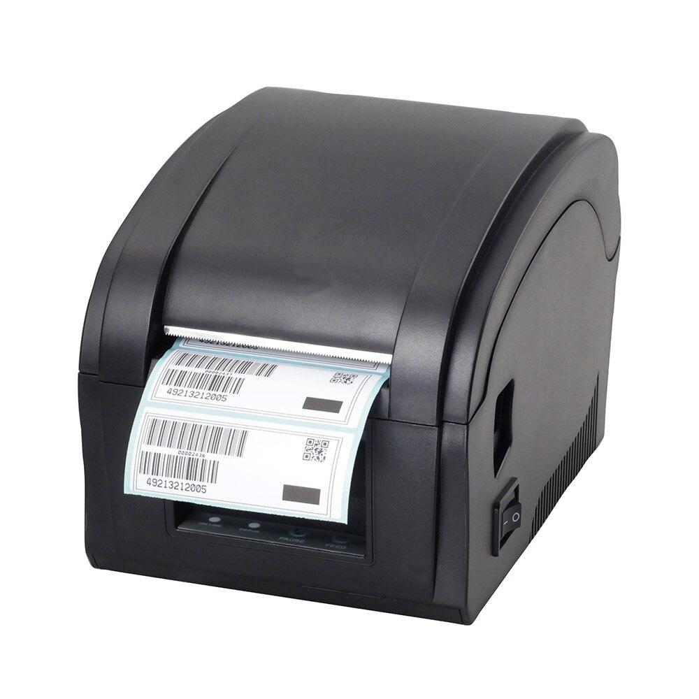 Высокое качество USB порт Термальность стикер Принтер штрих-кода Принтер этикеток для ювелирных изделий, чай с молоком магазин