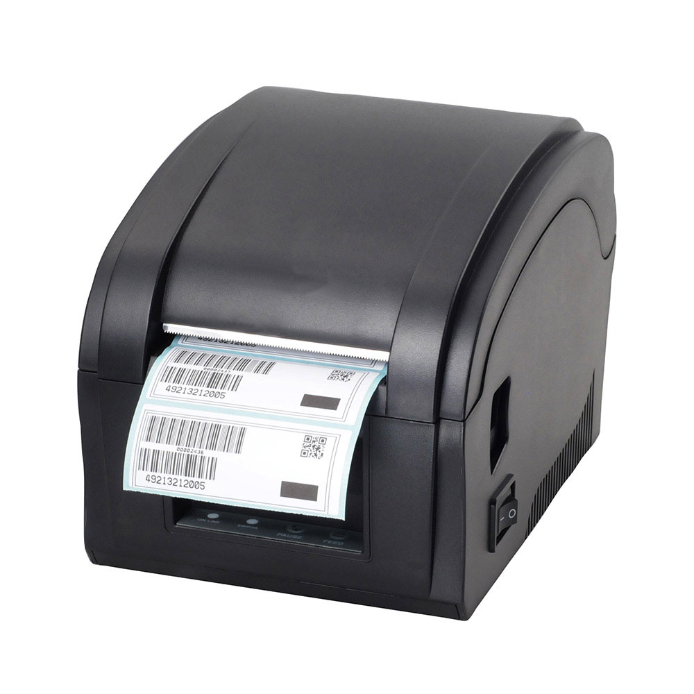 High quality USB port Thermal sticker printer Barcode printer Label Printer  for Jewelry, milk tea shop 2017 new arrived usb port thermal label printer thermal shipping address printer pos printer can print paper 40 120mm