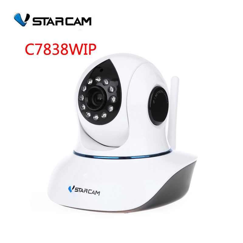 Vstarcam P2P Plug and Play 720P 1 0MP IP camera HD Onvif WIFI Pan Tilt SD