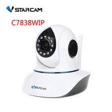 Vstarcam P2P Plug and Play 720P 1.0MP IP camera  HD Onvif WIFI Pan/Tilt SD Card Slot IR Cut Home Security , sn:C7838WIP