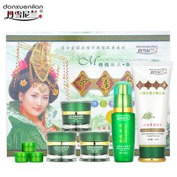 Free shipping  danxuenilan spot removing  blemish whitening cream 5pcs/ set