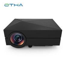 Otha GM60 1000 люмен мини светодиодный проектор для HD Видеоигры ТВ дома Театр фильм Поддержка HDMI VGA AV SD Портативный proyector