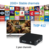 Linux IPTV Box Original TVIP412 More 2000 Stable Channels Built In Wifi Support M3U Stalker EPG