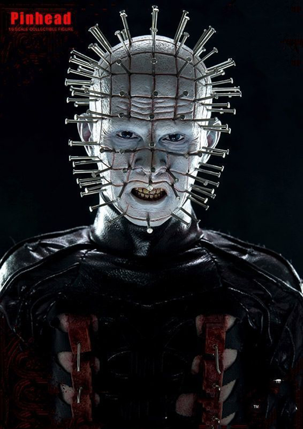 """Collectible 1/6 ScaleHellraiser III Hell on Earth Pinhead Collectible 12"""" Action Figure Doll Toys Gift 1"""