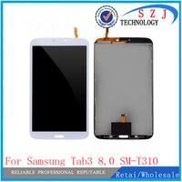 Neue 8 ''zoll tablet pc Für Samsung Galaxy Tab3 8 0 SM T310 T310 T311 LCD Display und Touch Screen Digitizer montage-in Tablett-LCDs und -Paneele aus Computer und Büro bei