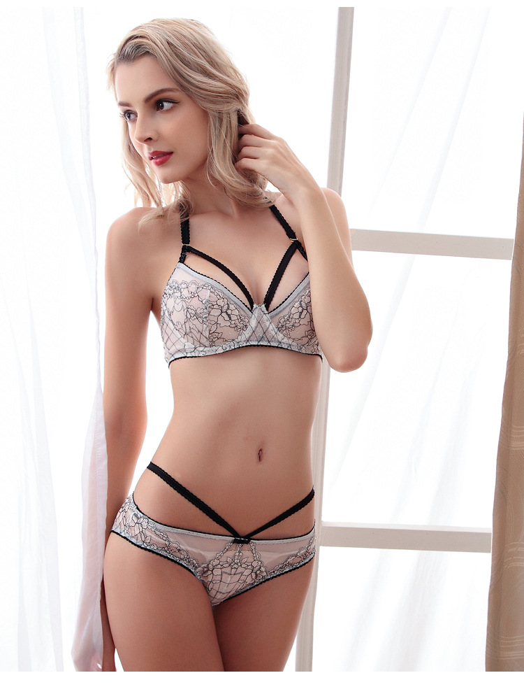 Aliexpress.com : Buy Embroidery Adjusted straps 3/4 Cup Unlined ...