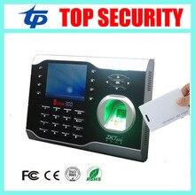 Carte d'empreintes digitales et RFID temps de présence horloge ZK TCP/IP biométrique d'empreintes digitales temps enregistreur enregistreur avec ID lecteur de carte