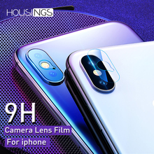 9H Phone Camera Lens Protective Film For Iphone X 7 8 Plus XR Xs max 6s Tempered Glass Back Camera Screen Protector For iPhone 7 phone camera lens 9 in 1 phone lens kit for iphone x xs max 8 7 plus samsung s10 s10e s9 s8