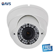 Security CMOS AHD IR 720P 1.0MP Dome CCTV Surveillance System With Metal Vandalproof Casing