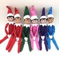 5 шт. Эльф На Полке Рождество Куклы Рождественские Традиции Дети День Рождения 37 см Плюшевые Игрушки И Книги