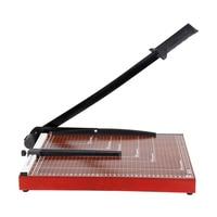 Deli 15 X12 Inch Sturdy Metal Base Paper Cutter Trimmer Scrap Booking Guillotine