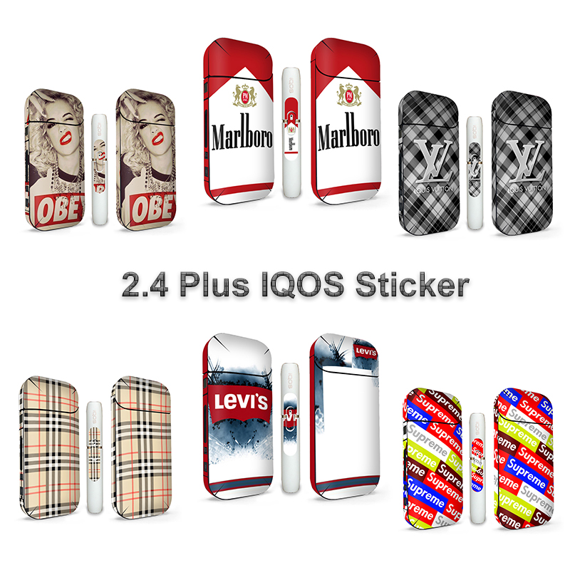 US $1 76 11% OFF Mrs Win Sticker For IQOS IQOS 2 4 Plus Universal 3M  Printing Protective Skin Decals cigarette iqos sticker-in Mobile Phone  Stickers