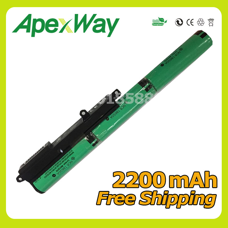 Apexway New Laptop Battery A31N1519 For ASUS R540L X540L X540LA X540LJ X540S X540SA X540SC X540YA X540LA-1A X540LA-1C new 33wh a31n1519 battery for asus x540s x540l x540la si302 x540sa x540sc x540s x540 x540ya 11 25v
