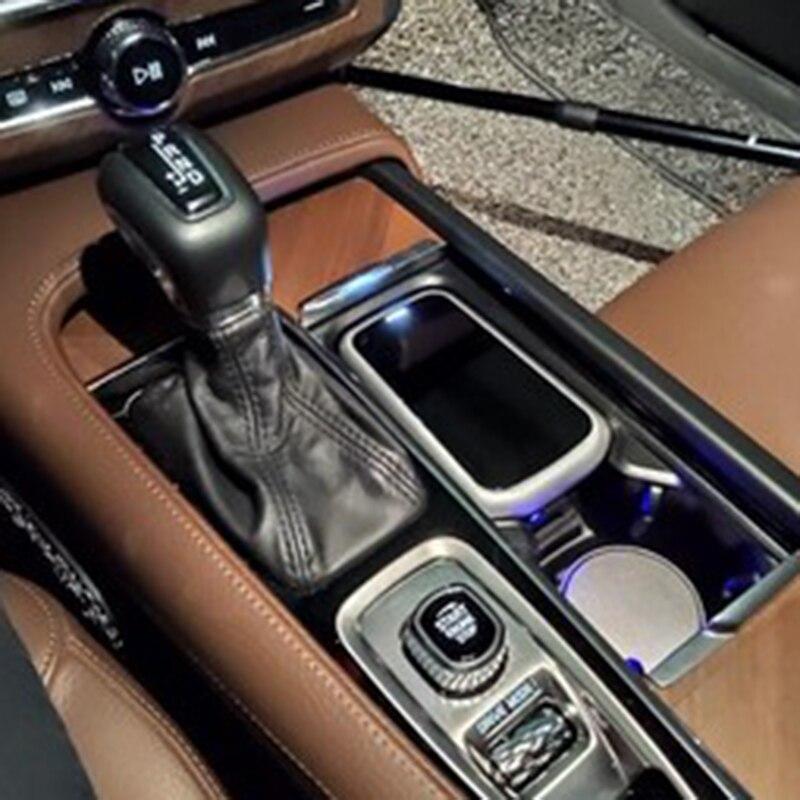 Для Volvo XC60 V60 S60 XC90 V90 S90 автомобильное беспроводное зарядное устройство QI чехол для зарядки телефона автомобильные аксессуары