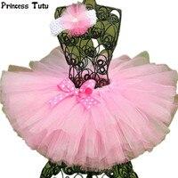 Handmade Fluffy 3 Layer Baby Girl Tutu Skirt Kids Baby Tulle Skirt For Birthday Party Casual