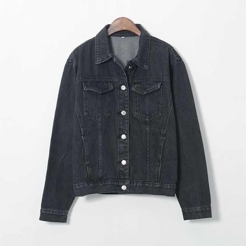 Popular Ladies Black Denim Jacket-Buy Cheap Ladies Black Denim