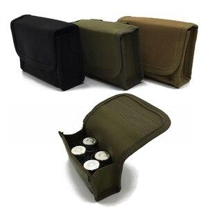 Hunting tactical molle pouch waist bag ammunition bag airsoft 10 hole bandolier bag military equipmen gun accessories