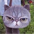 big ! 2017 3D Tiger animal printing Top-Handle Bags female tote bags for women purses and handbags round women shoulder bags