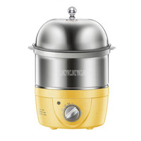2 Layer 360W Multifunctional Electric Boiler Rapid Egg Cooker Steamer Bottle Disinfection 14 Eggs Boiler Warm Milk Buns ZDQ 2153