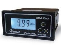 4-20ma 전류 출력을 갖춘 CM-230KA 산업용 온라인 전도도 측정기/순수한 물 기계