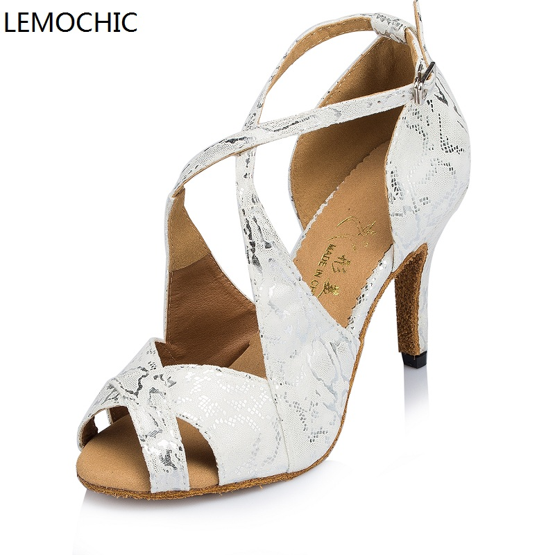 LEMOCHIC tango flamenco party arena samba rumba latin ballroom cha cha dance sneakers2017 modest dancing shoes best seller