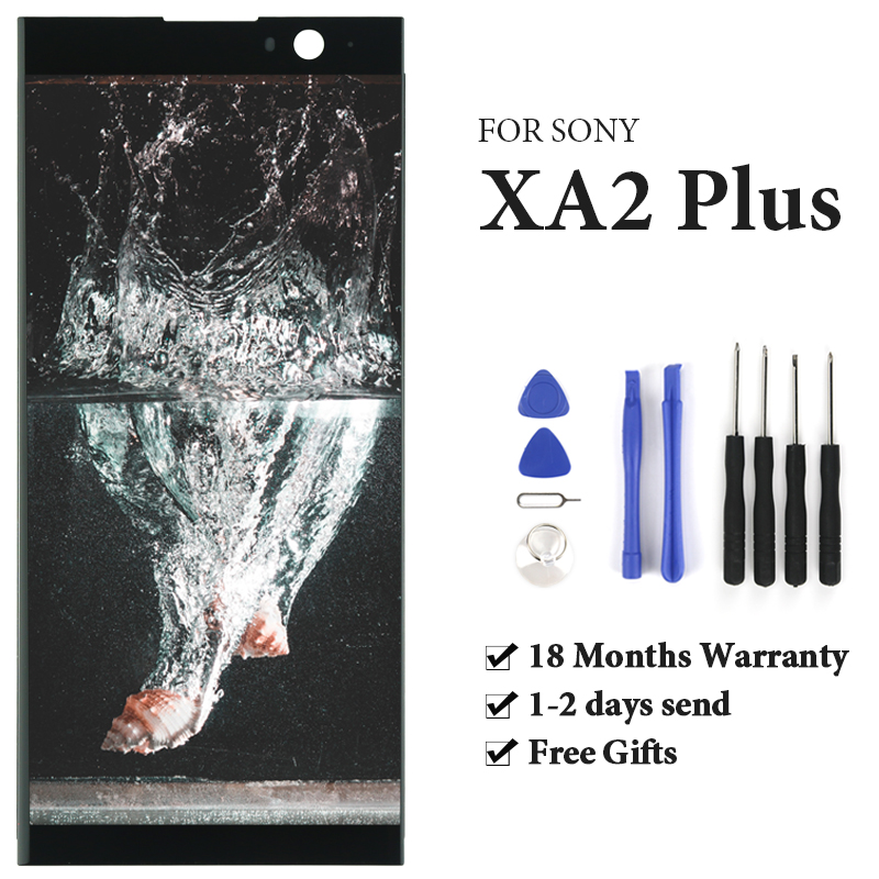 AAA+++ For Sony Xperia XA2 Plus LCD Touch Screen For Sony Xperia XA2 Plus LCD Display Digitizer Assembly Parts With Gifts