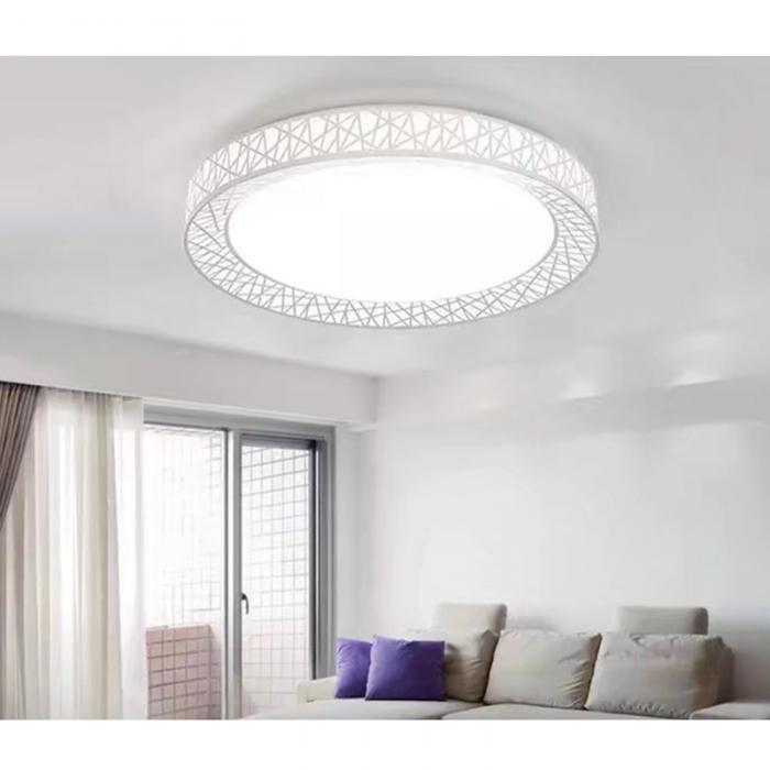 HTB1jQz.eBOD3KVjSZFFq6An9pXav Cool Ceiling Lights | Circular Ceiling Light | Newest LED chandelier Bird Nest Round raven Lamp Modern Fixtures For Living Room Bedroom Kitchen Modern Light-KK Diameter 27cm