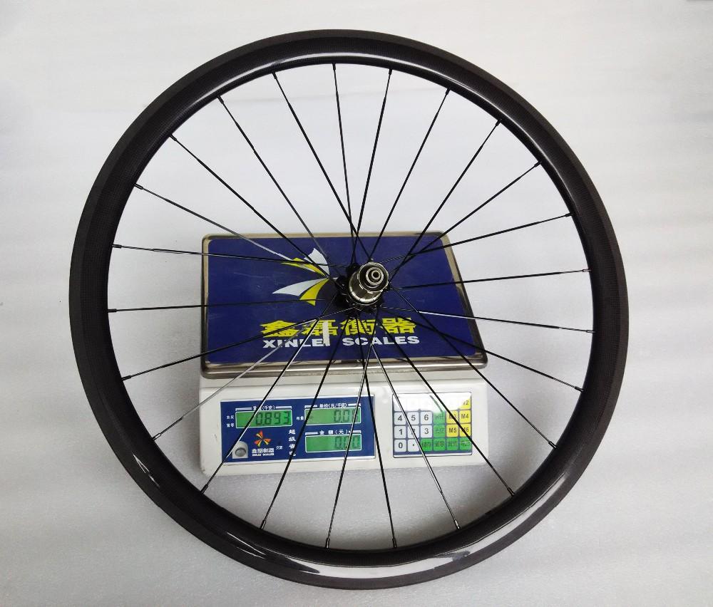 carbon wheels clincher 38mm 700C road bike clincher 38mm 3k glossy  black wheelset (13)