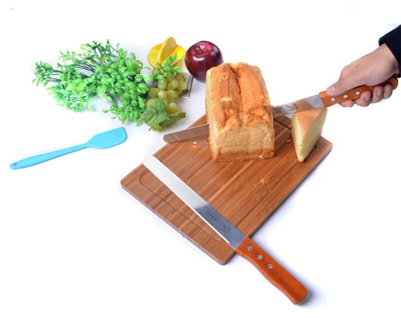 1 Stucke Kuche 10 12 Zoll Kuche Chef Gezackten Toast Brot Kuchen